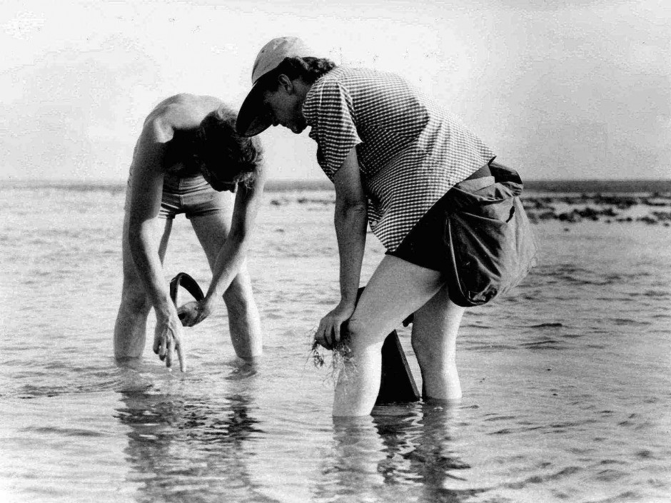 old-photo-of-man-and-women-in-water