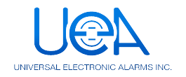 Universal Electronic Alarm Systems logo